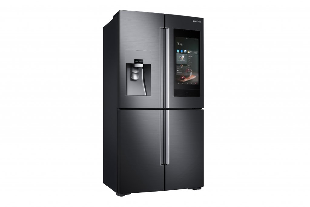 Samsung Electronics Debuts Next Generation of Family Hub Refrigerator at CES 2018