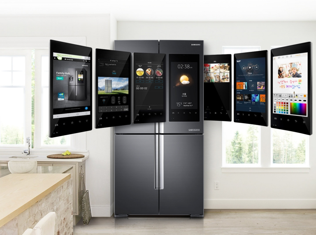 Samsung Electronics Expands the Smart Features of the Family Hub Refrigerator