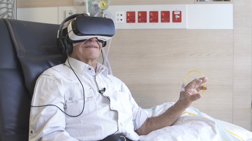 Start VR Introduces Virtual Reality to Chemotherapy Patient Program at Chris O'Brien Lifehouse
