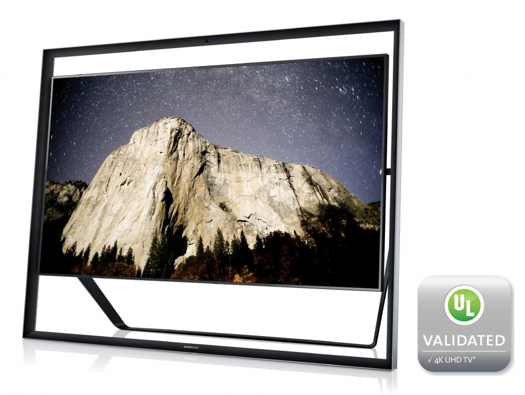 Samsung UHD TV Certified by UL for Picture Quality