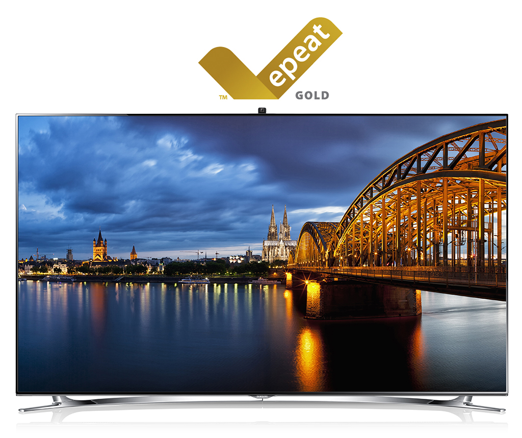 Samsung TVs Sweep Gold Medals for Environmental Seal of Approval by EPEAT