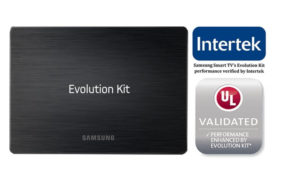 Samsung Smart TV's Evolution Kit Certified by UL and Intertek