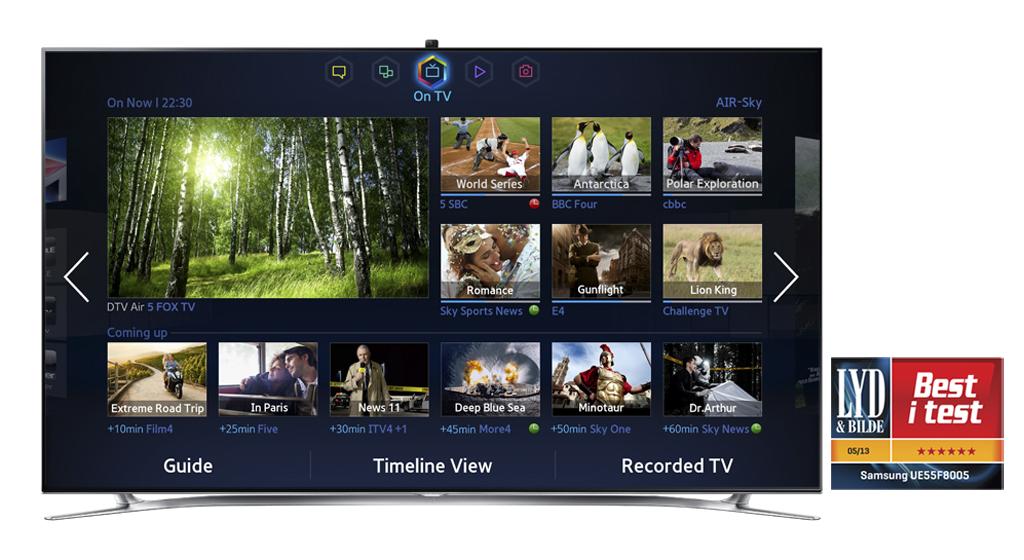 Samsung Smart TV Hailed as the Smartest Platform by Global Media