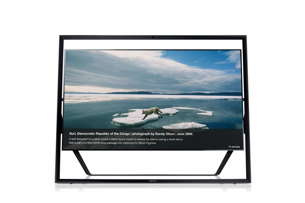 Enjoy the Photos of National Geographic Magazine with Samsung UHD TV