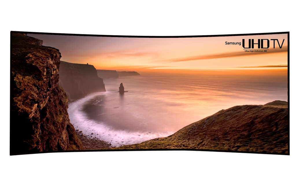 """Samsung Unveils the World's First, Largest and Most Curved 105"""" Curved UHD TV"""