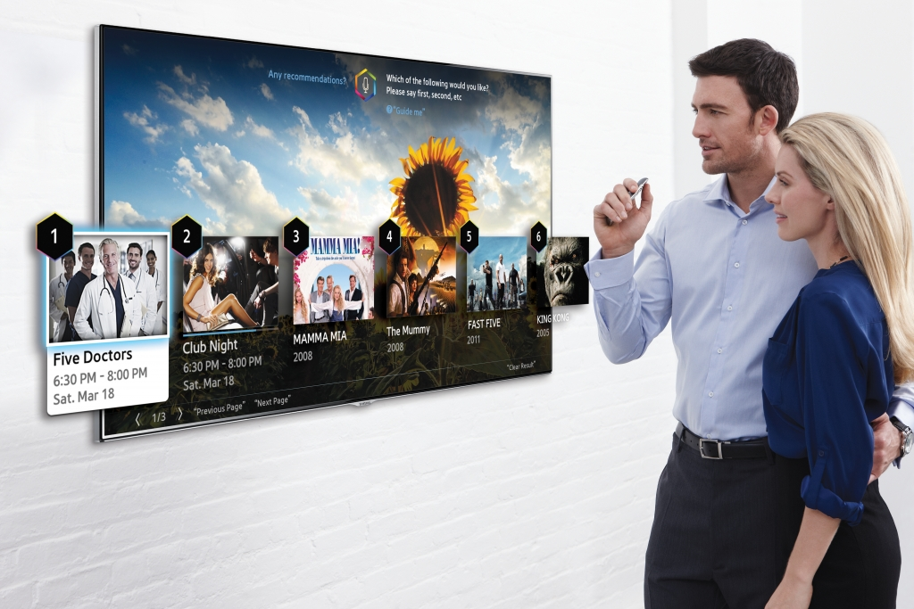 2014 Samsung Smart TVs get Easier and More Convenient to Use