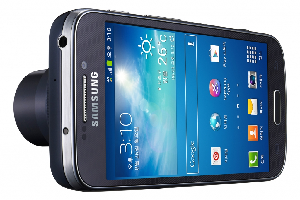 Samsung Introduces GALAXY S4 zoom – the first smartphone to offer 10x optical zoom, for perfect picture taking