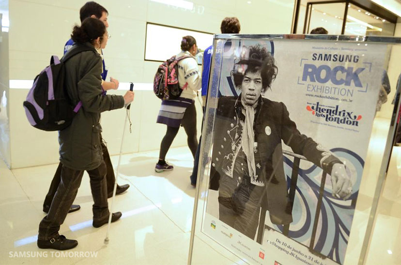 Samsung Level Headset Makes Jimi Hendrix Exhibit Accessible to All