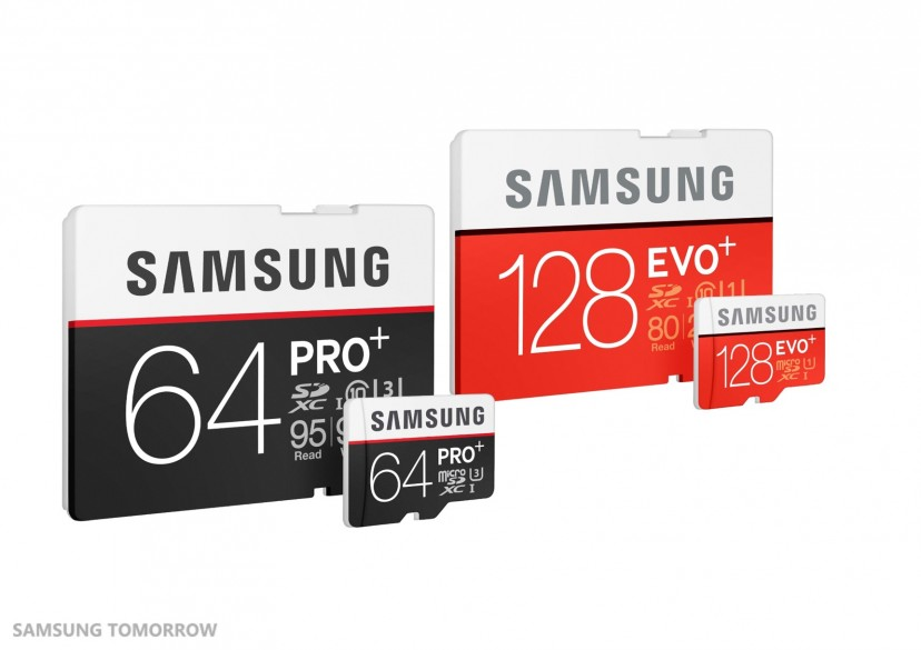 Samsung Electronics Delivers Even Faster Speeds with New PRO Plus and EVO Plus Memory Cards