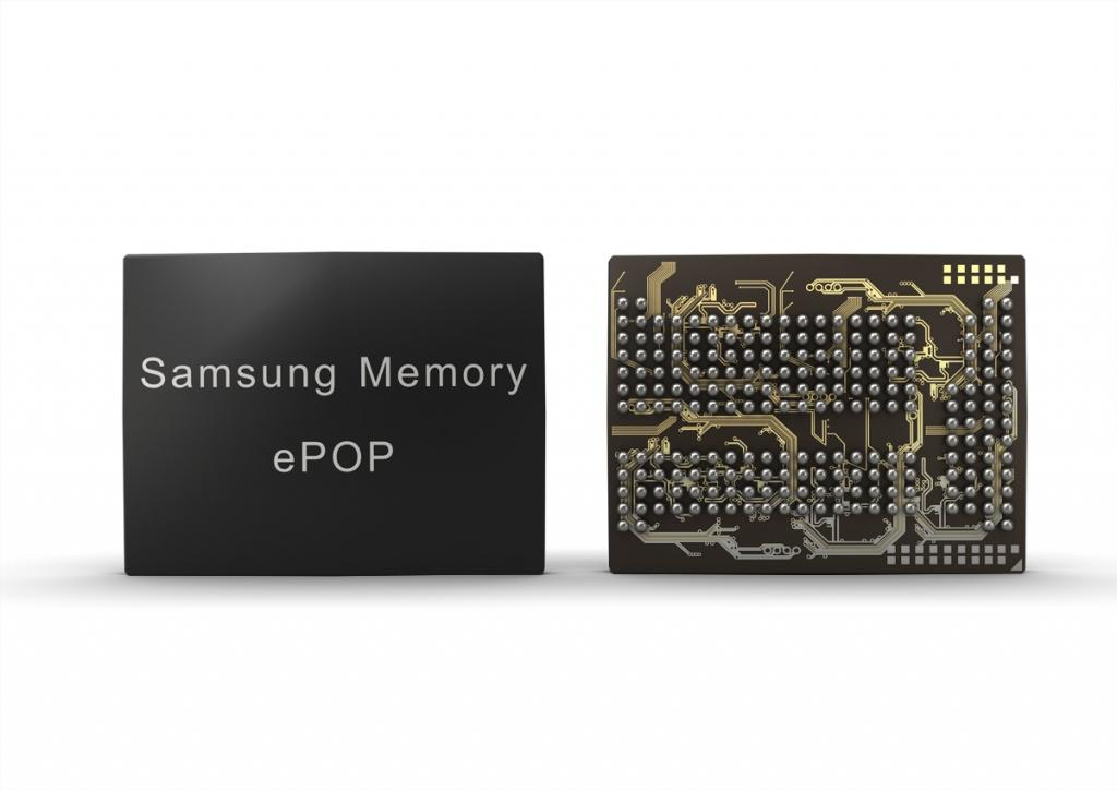 Samsung Electronics Mass Producing High-Density ePoP Memory for Smartphones