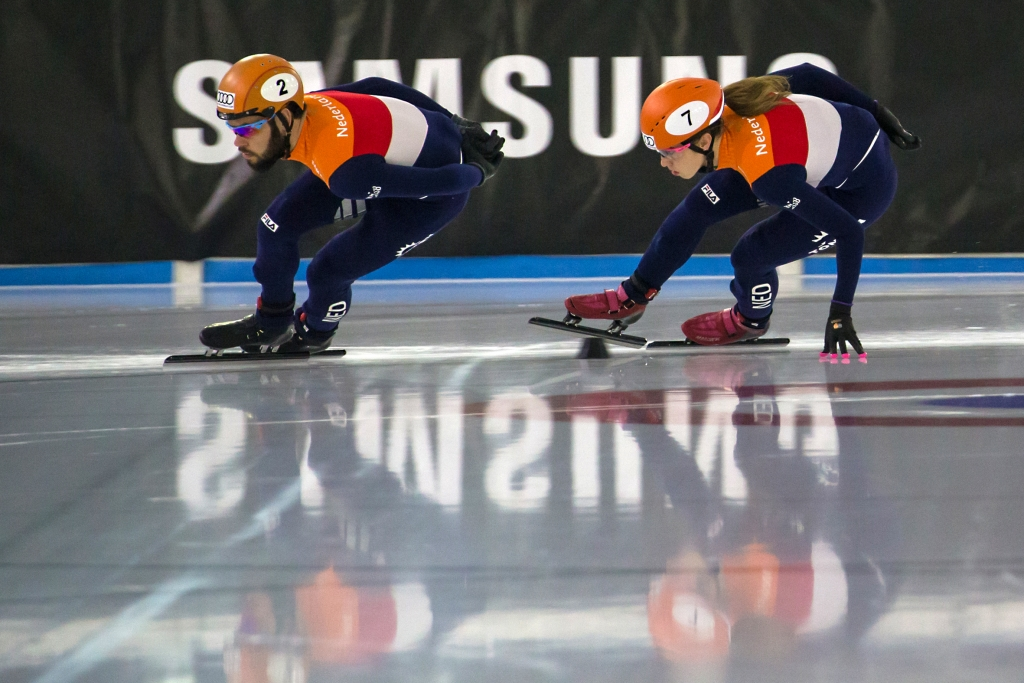 Dutch short track skaters Sjinkie Knegt and Suzanne Schulting have a secret weapon for the upcoming Olympic Winter Games PyeongChang 2018