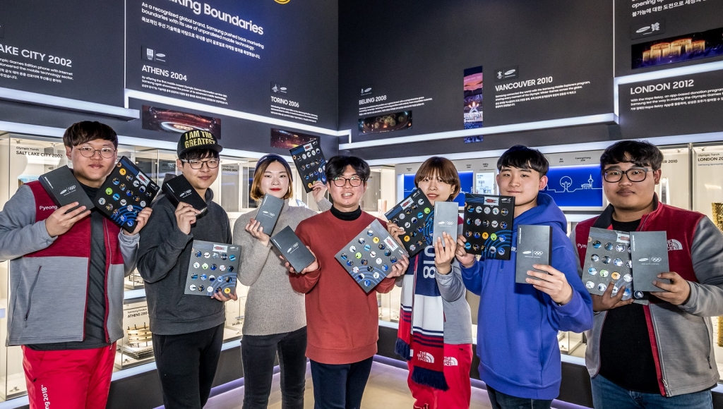 Samsung Electronics Continues to Drive Innovation Through Cutting-Edge Technology at Olympic Winter Games PyeongChang 2018