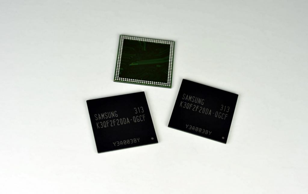 Samsung Now Producing Four Gigabit LPDDR3 Mobile DRAM, Using 20nm-class* Process Technology