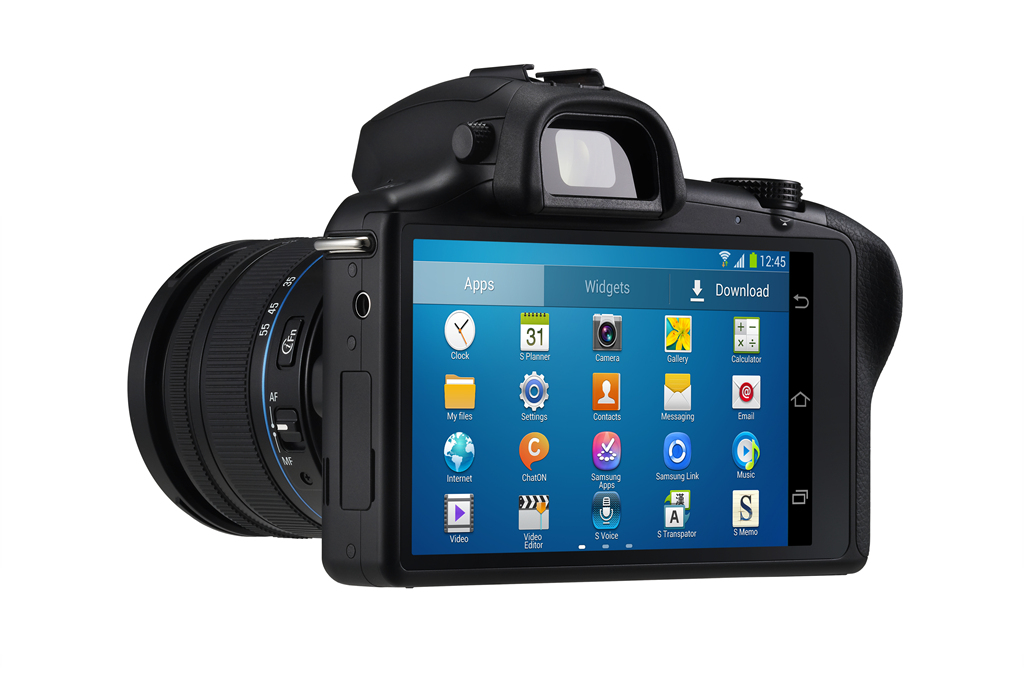 Introducing GALAXY NX, the First Interchangeable-Lens Camera with 3G/4G LTE & Wi-Fi Connectivity