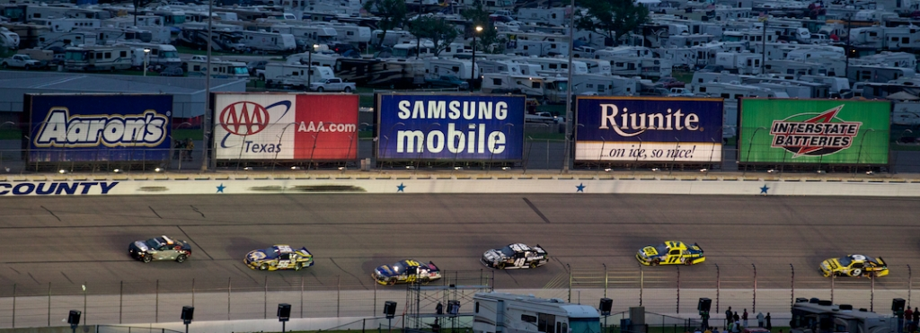 Samsung Mobile 500: Samsung's Continued Official Sponsorship of Nascar Racing League