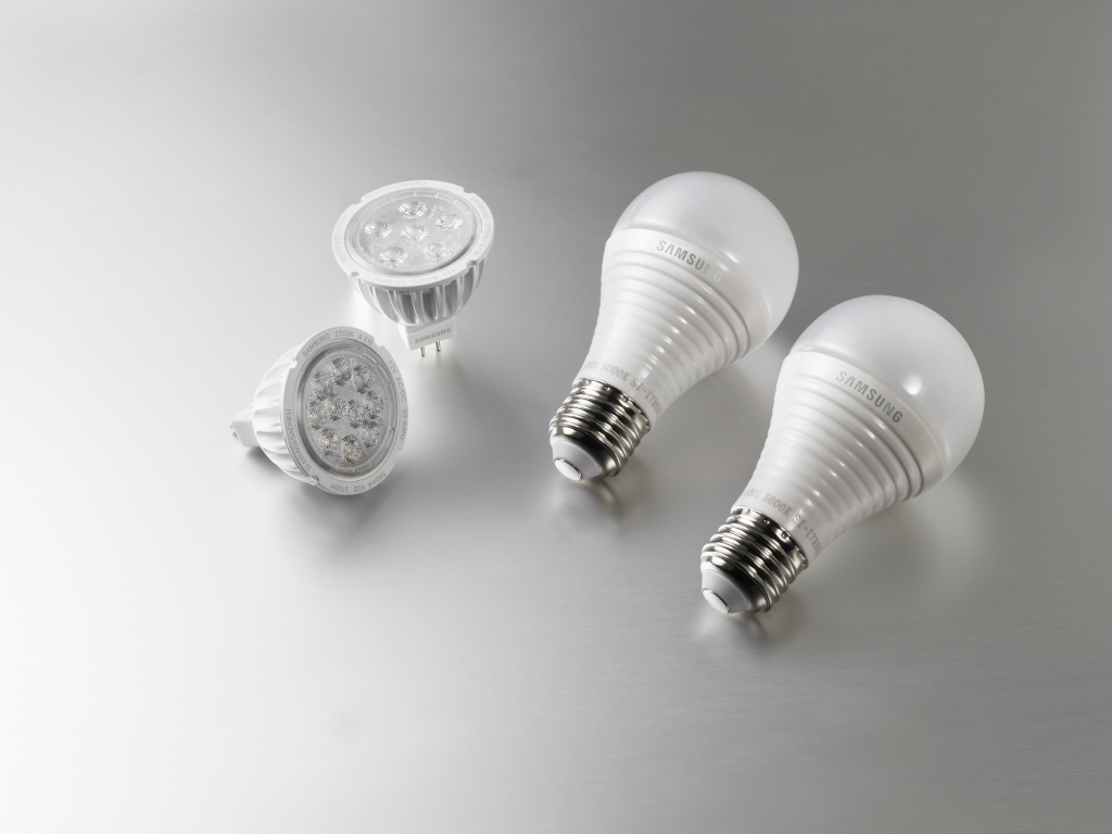 Samsung Leads the Way for Consumer LED Lights