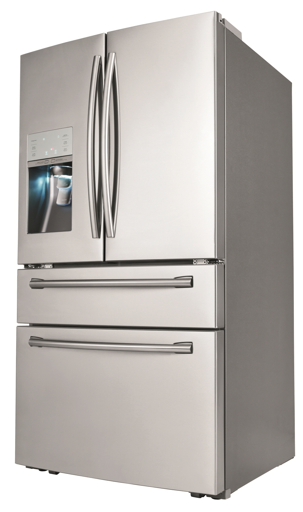 Samsung Releases the First-Ever Four-Door Refrigerator with Sparkling Water Dispenser