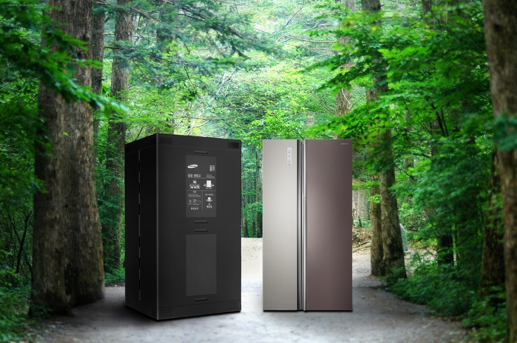 Samsung Saves 40,000 Trees with Zipel Refrigerator's Green Packaging