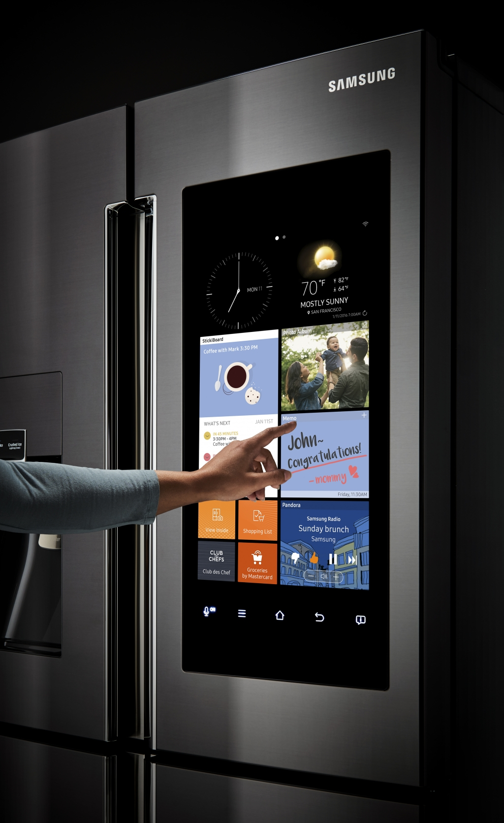 Samsung Reinvents the Refrigerator
