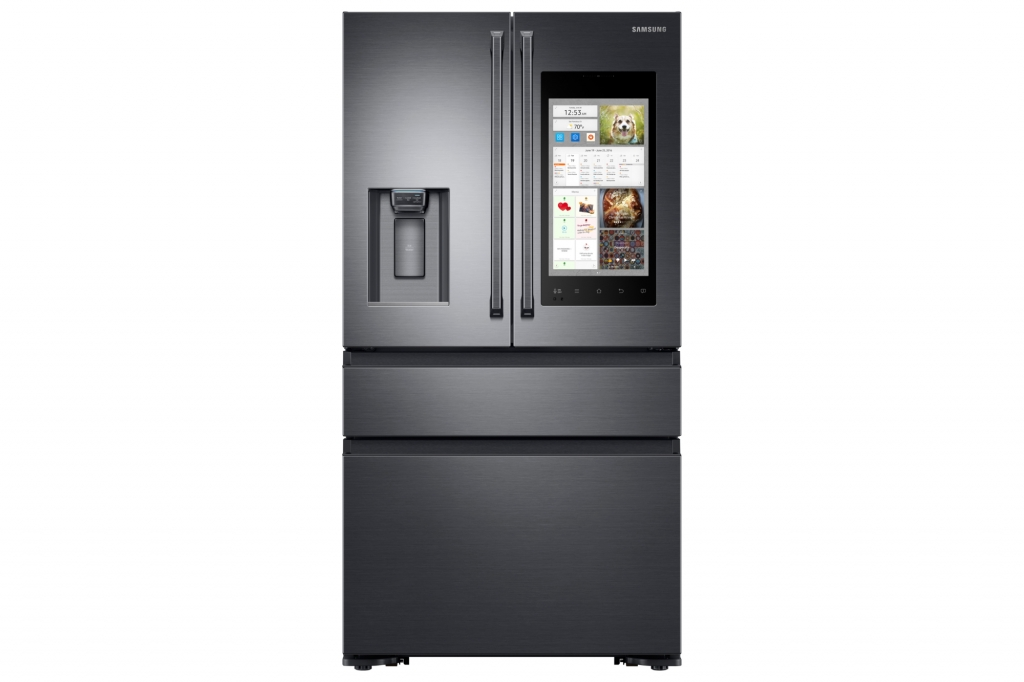 Samsung Electronics Unveils Family Hub 2.0 and Smart Built-in Appliances at CES 2017