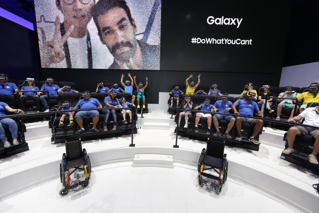 Samsung Provides Kids from AACD with Once-In-A-Lifetime Paralympic Games Experience