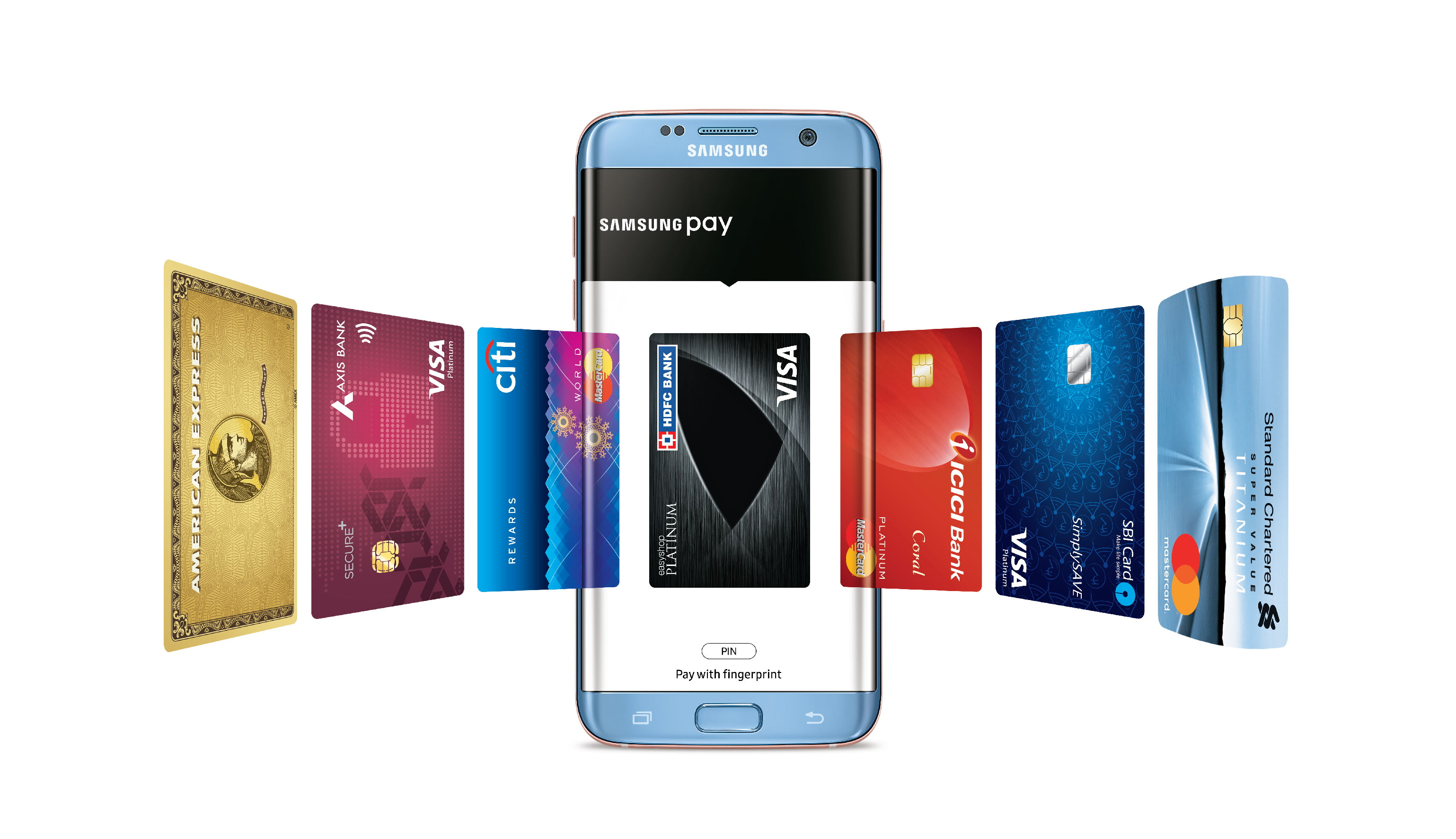 Samsung Launches its Mobile Payments Service Samsung Pay in