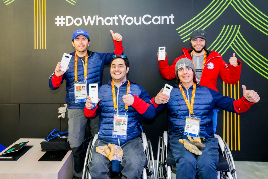 Samsung Inspires Paralympic Spirit through Meaningful Technology at the PyeongChang 2018 Paralympic Winter Games