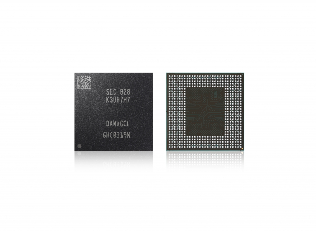 Samsung Begins Mass Producing Industry's First 2nd-Generation 10nm-Class, 16Gb LPDDR4X Mobile DRAM