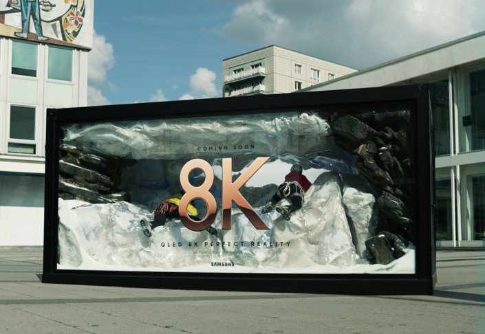 Samsung Celebrates QLED 8K Launch with Eye-catching Digital Campaign
