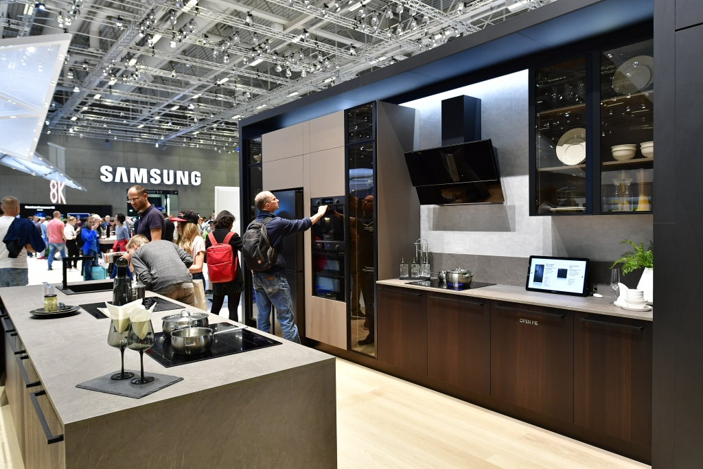 How Samsung is Bringing the Trendsetting Kitchen to Life at IFA 2018