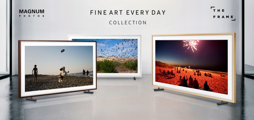 """Samsung Partners with Magnum Photos to Introduce """"Fine Art, Everyday"""" Collection on The Frame"""