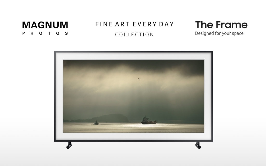 "Samsung Partners with Magnum Photos to Introduce ""Fine Art, Everyday"" Collection on The Frame"