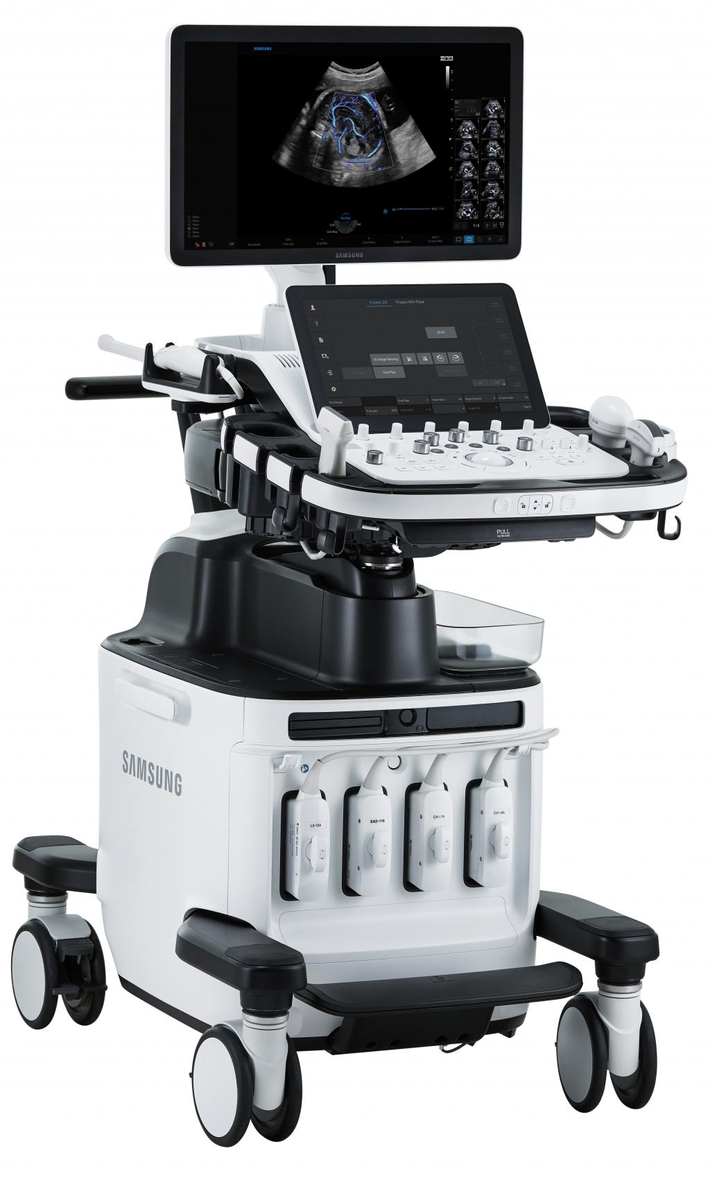 Samsung Unveils a New Ultrasound System 'HERA W10' Powered by Beamforming Technology at ISUOG World Congress 2018