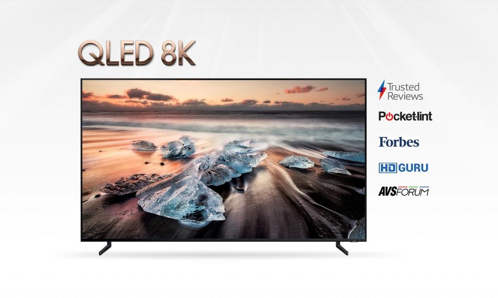 Rave Reviews for Samsung QLED 8K TV