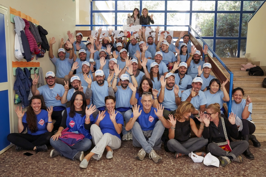 Samsung Offices All Over the World Give Back During Global Volunteer Month, October 2018