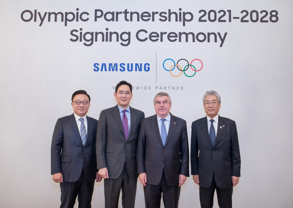 IOC and Samsung Extend Partnership Through to 2028