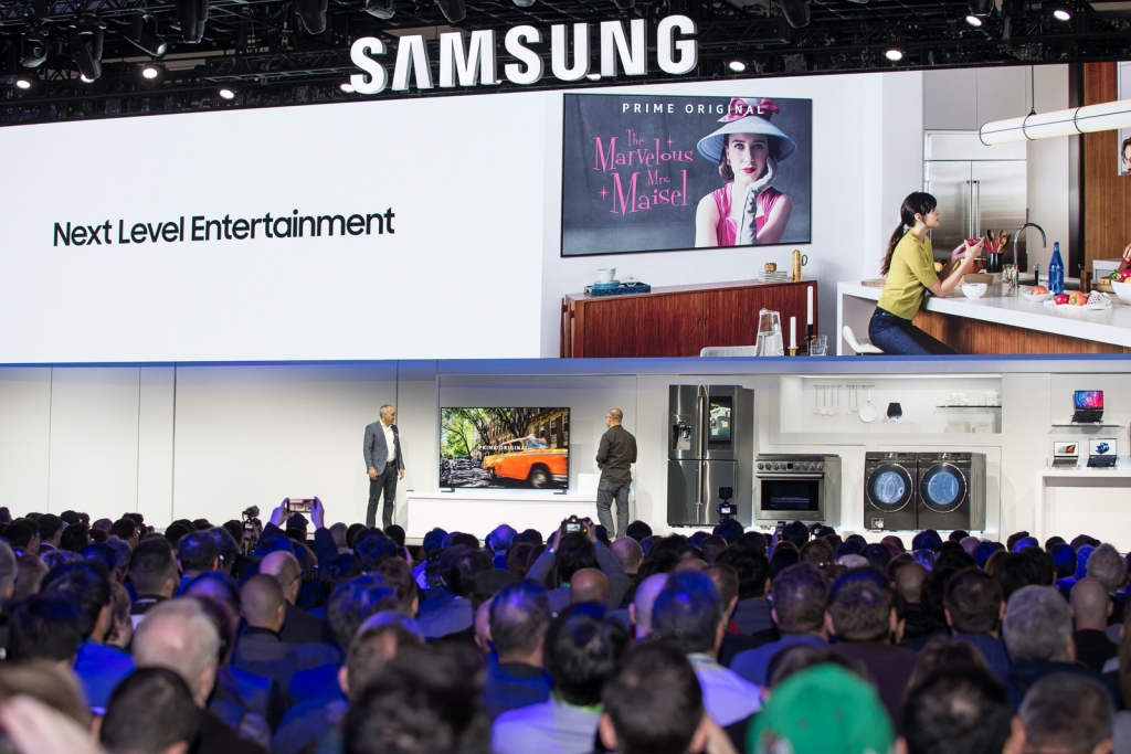 CES2019 Samsung Press Conference_Smart TV_Universal Guide Demo