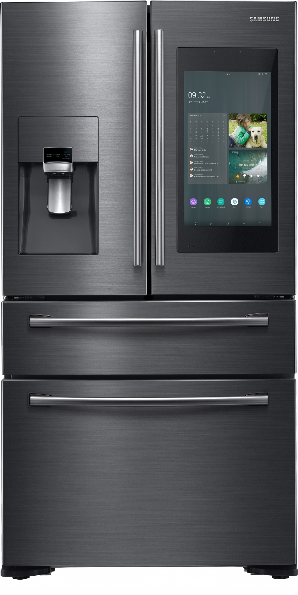 Samsung Debuts a New Standard in Connectivity with Next Generation of Family Hub Refrigerator at CES 2019