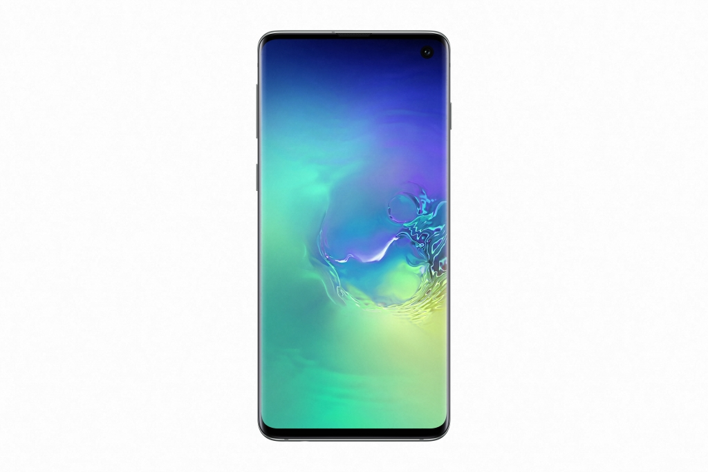 Galaxy S10_PrismGreen_Front