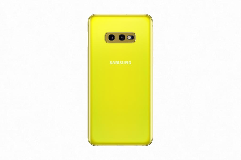Galaxy S10e_CanaryYellow_Back