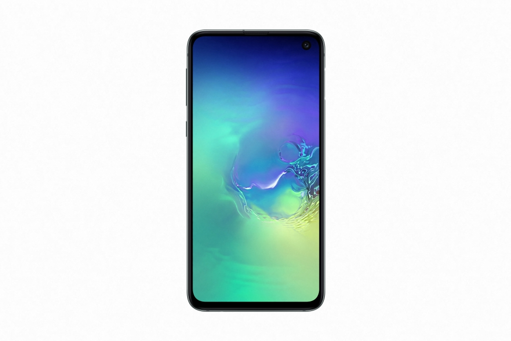 Galaxy S10e_PrismGreen_Front