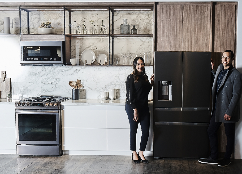 Samsung Debuts its 2019 Connected Kitchen and Laundry Innovations at KBIS 2019