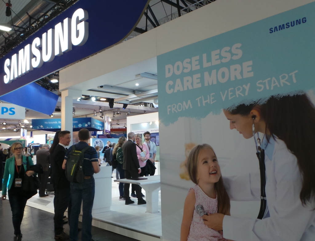Samsung Showcases AI-based Medical Technologies at European Congress of Radiology 2019