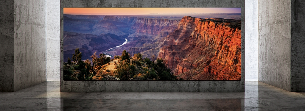 The Wall Luxury : Samsung's New Digital Display Innovations Introduced at InfoComm 2019