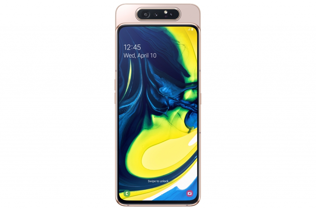 The Era of Live Starts Now: Galaxy A80 Available Today