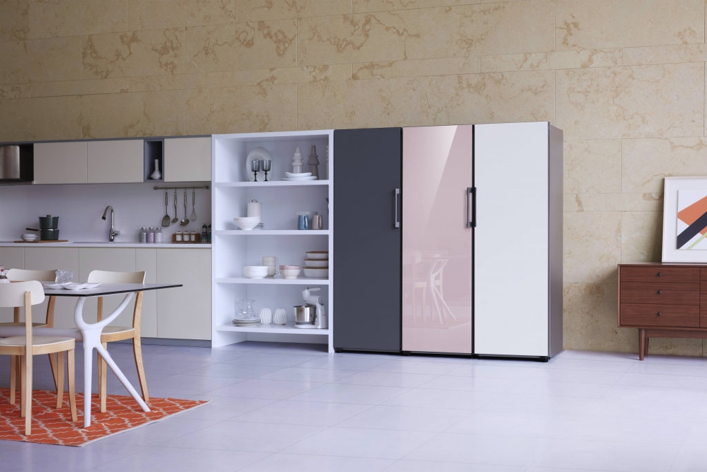 Samsung Introduces New BESPOKE Refrigerator and New Premium Built-in Lineup at IFA 2019