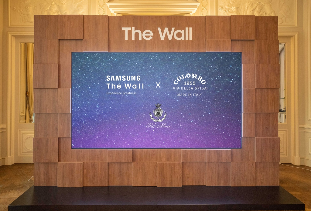 Samsung Showcases 'The Wall Luxury' During Paris Fashion Week and the Monaco Yacht Show