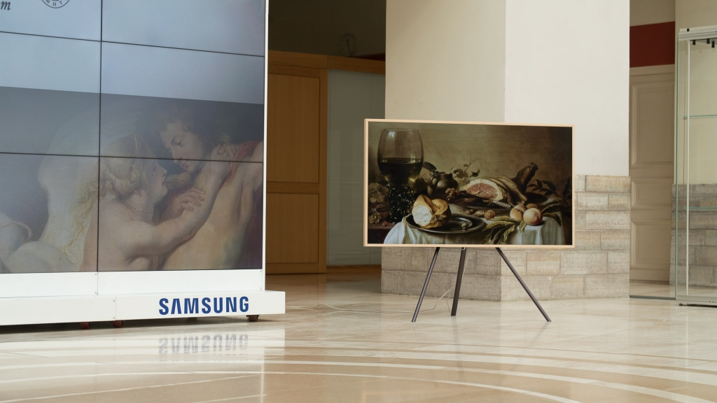 "Samsung's The Frame to Feature Masterpieces From the State Hermitage Museum through ""The Art Store"""
