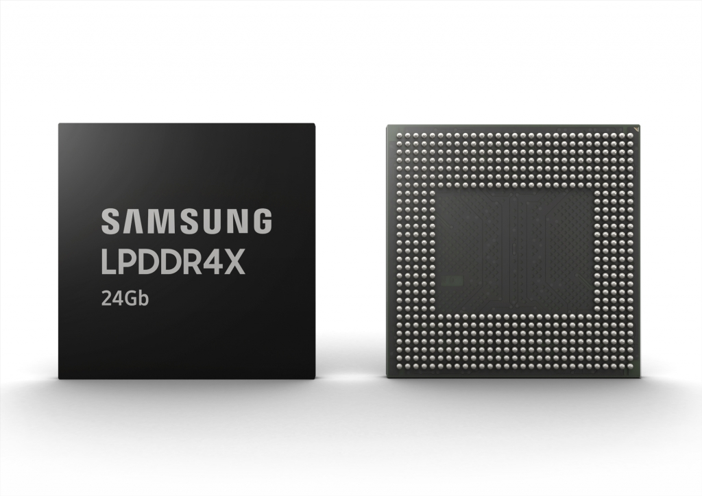 Samsung Electronics Begins Mass Production of Industry's First 12GB LPDDR4X-based uMCP