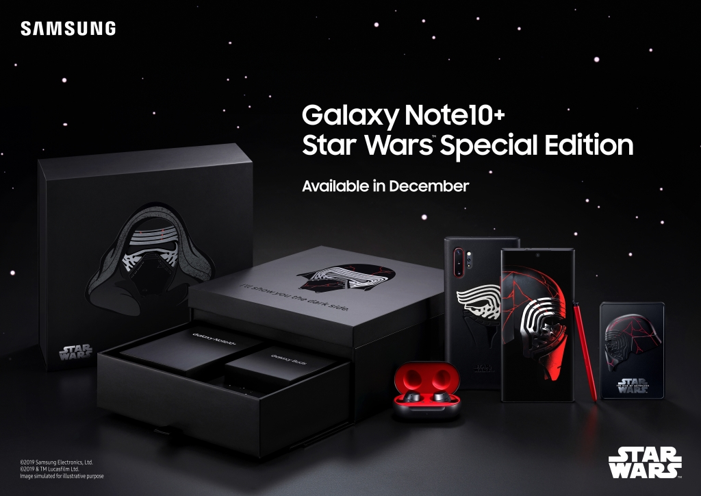 Samsung Announces Galaxy Note10+ Star Wars™ Special Edition